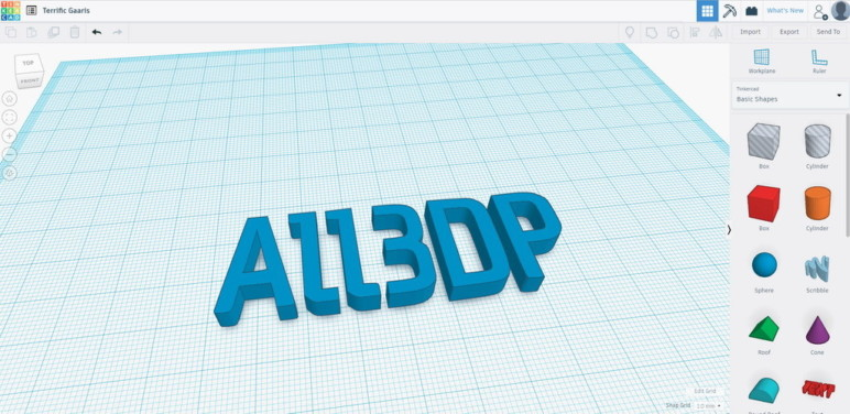 Converting Using Tinkercad