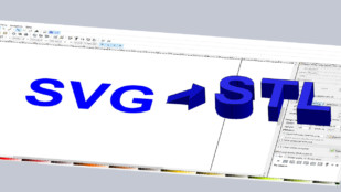Featured image of SVG to STL – How to Convert SVGs into 3D Printable STLs