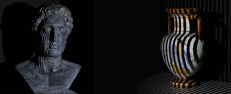 3D scanning works by collecting measurement data points from the object that's scanned.