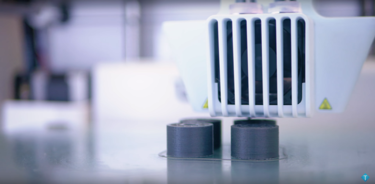 PLA yields clean prints with flexible settings.