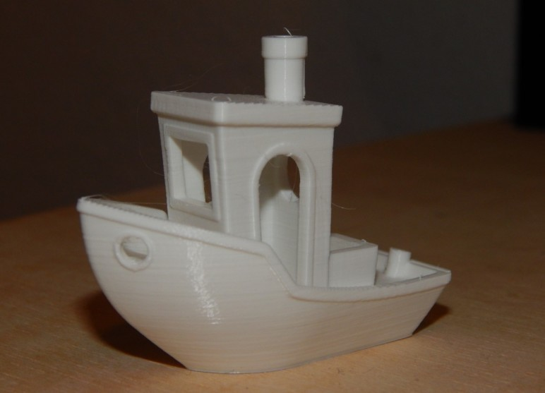 Our 3DBenchy test.