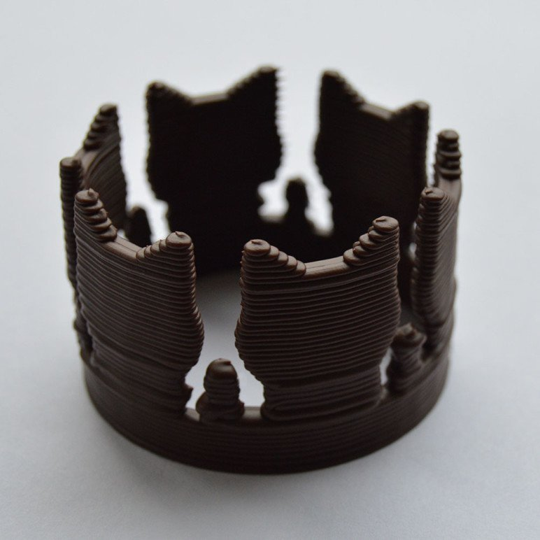 One of the many chocolate templates available to print.