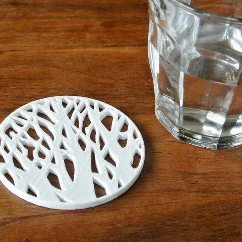 This coaster is the embodiment of form and function.
