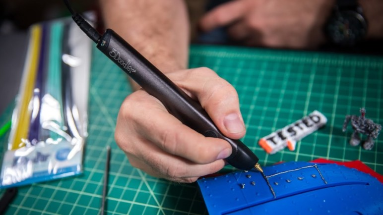 3D pens are an alternative to PLA welding.