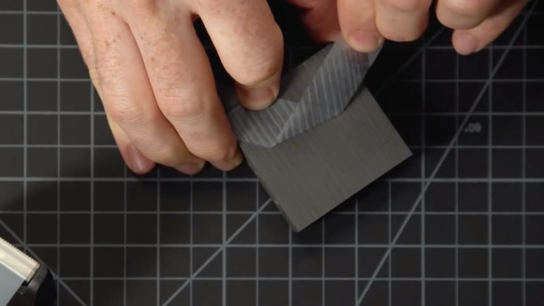 Using a piece of tape on a solid block of graphite led to the discovery of graphene.