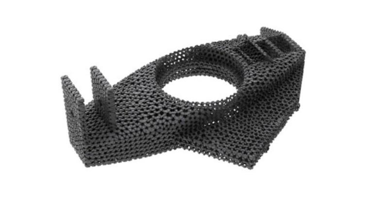 EBM 3D printed racing component.