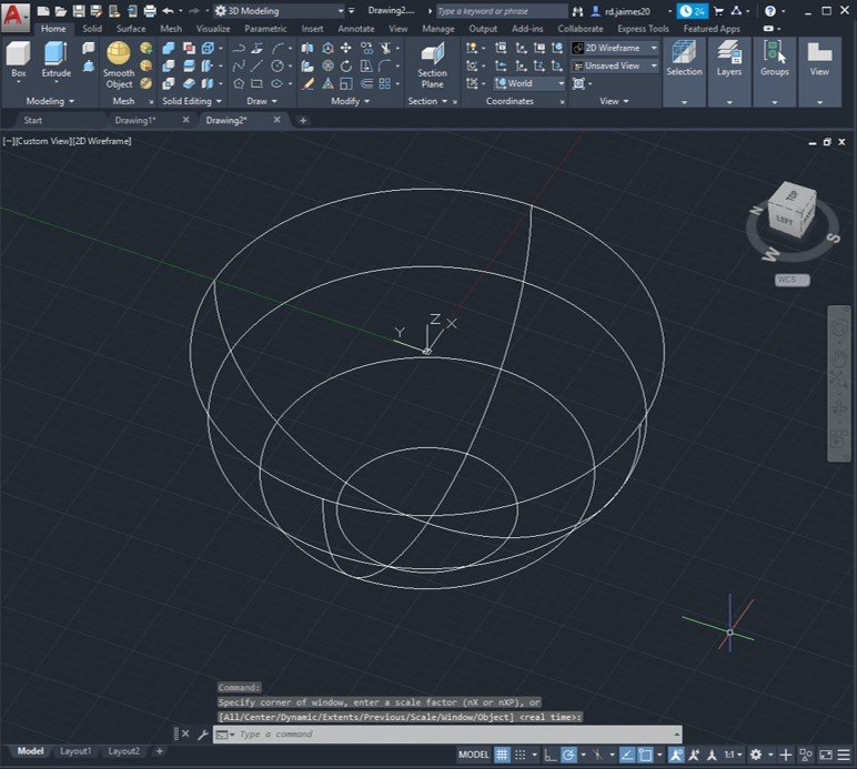 autocad intersect