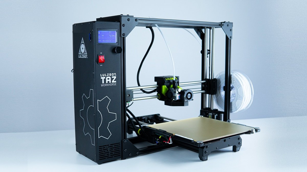 LulzBot Taz Workhorse Review: 10-Hour Testing | All3DP