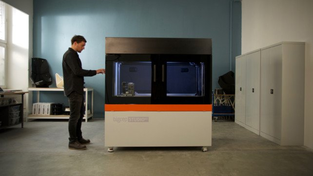 Featured image of BigRep Reveals STUDIO G2 Large-Format 3D Printer at RAPID+TCT