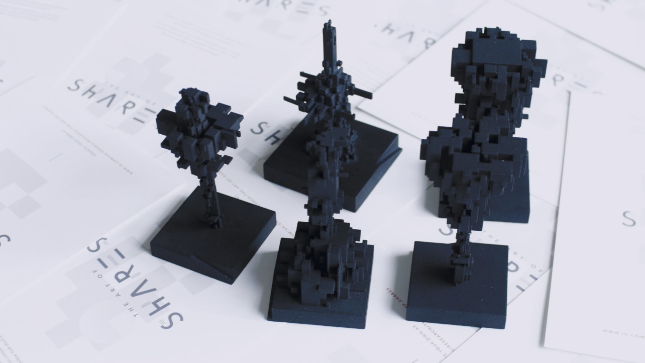 Featured image of The Art of Shares Turns Stock Market Numbers into 3D Vizualizations and Prints