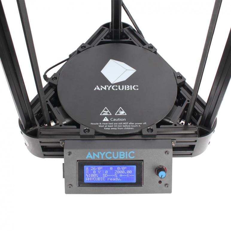 Image of Impresora 3D casera : Kossel de Anycubic (modelo de polea mejorada)