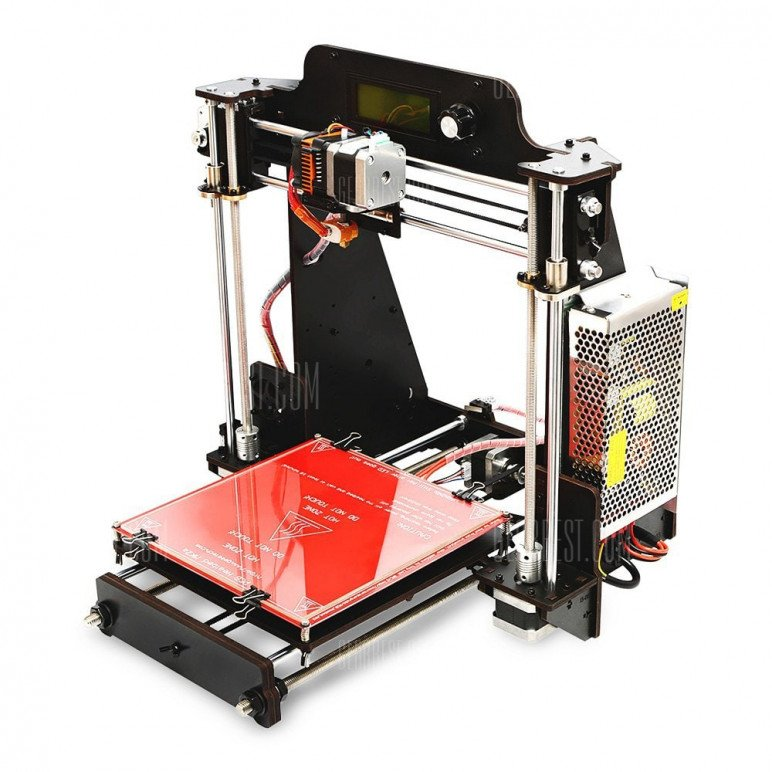 Image of Cheap DIY 3D Printer Kit: Geeetech Prusa i3 Pro W