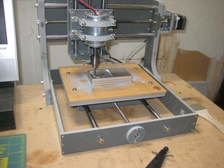 Imagen de Fresadora CNC: Las mejores máquinas CNC DIY: Máquina CNC Zen Toolworks