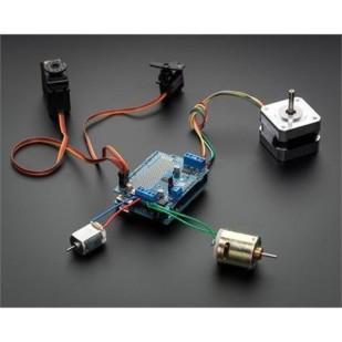 Product image of Adafruit Motor/Stepper/Servo Shield for Arduino v2 Kit-v2.3