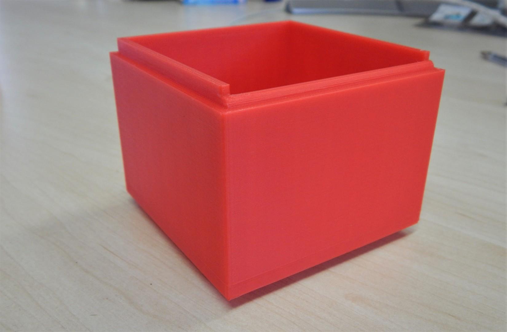 3D printed box and rim