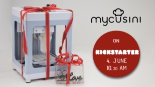 Featured image of Mycusini: Affordable $230 Chocolate Printer on Kickstarter