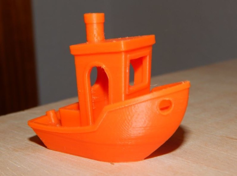 Our first successful Benchy.