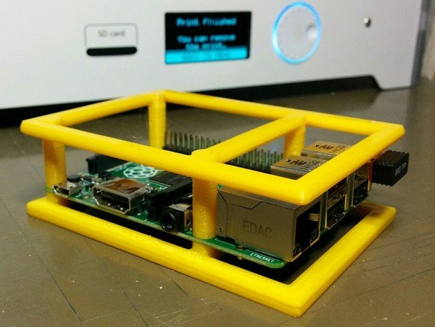Image of Best Free Raspberry Pi 4 Cases to 3D Print: Bumper Humper