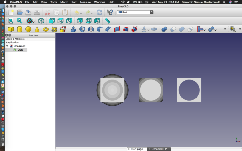 Converting is a cinch in FreeCAD.