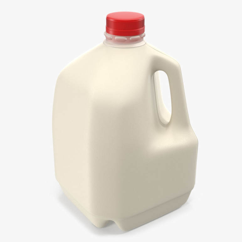 You can print your own milk jugs with HDPE!