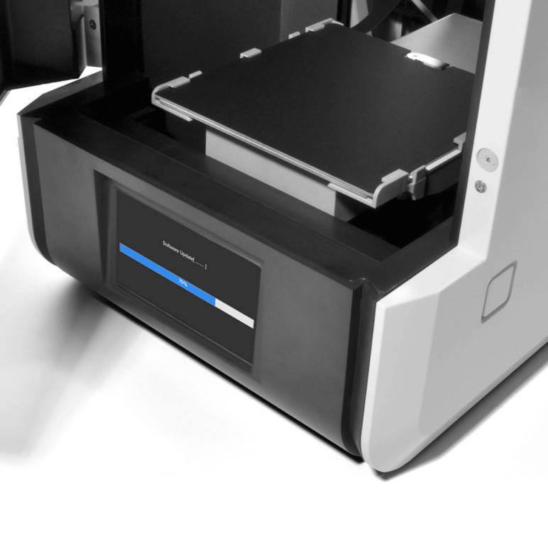 3D printers that are compatible with ABS filament are also compatible with HDPE.