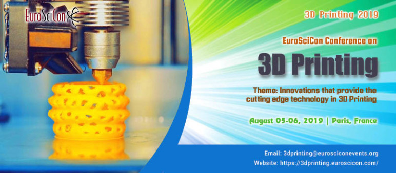 Image of 3D Printing / Additive Manufacturing Conference: Aug. 5-6, 2019 - 3D Printing 2019