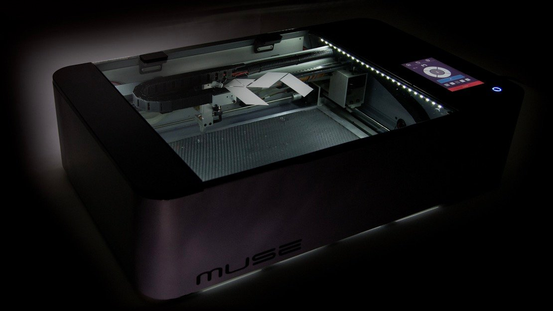 FSL Muse Hobby Laser Cutter/Engraver: Review the Specs | All3DP