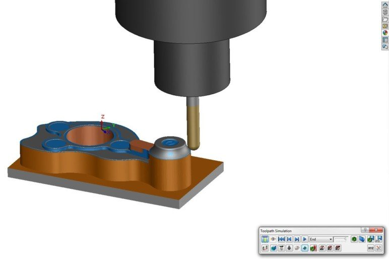 Preparing a model for production in SolidWorks.