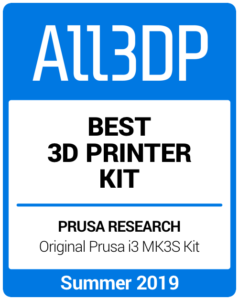 Best 3D Printer Kit Summer 2019 Prusa i3 Mk3S Kit