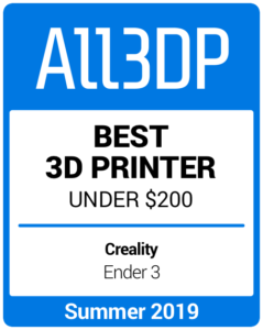 Best 3D Printer under $200 Summer 2019 Creality Ender 3
