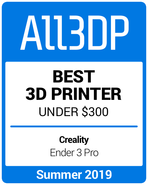 Best 3D Printer under $300 Summer 2019 Creality Ender 3 Pro