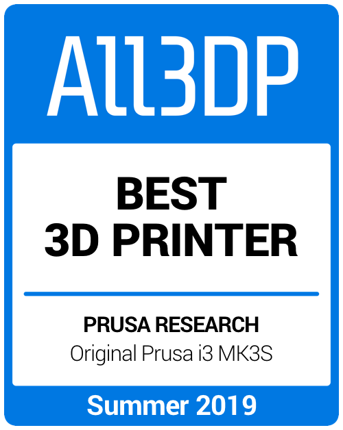 Best 3D Printer Summer 2019 Prusa i3 Mk3S