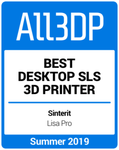 Best Desktop SLS 3D Printer Summer 2019 Sinterit Lisa Pro