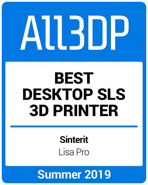 Best Desktop SLS 3D Printer Summer 2019 Sinterit Lisa Pro