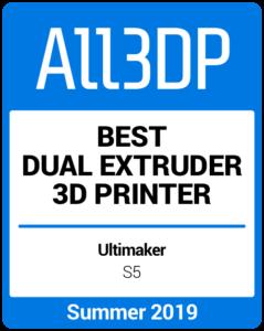 Best Dual Extruder 3D Printer Summer 2019 Ultimaker S5