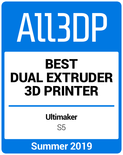 Best Dual Extruder 3D Printer Summer 2019 Ultimaker S5