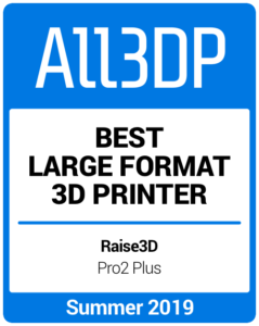 Best Large Format 3D Printer Summer 2019 Raise3D Pro2 Plus