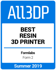 Best Resin 3D Printer Summer 2019 Formlabs Form 2