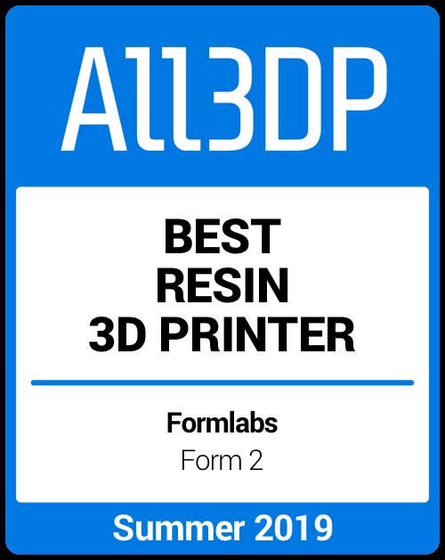 Best Resin 3D Printer Summer 2019 Formlabs Form 2