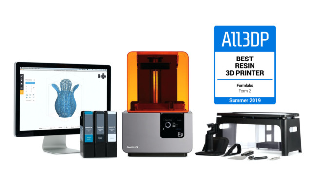 Featured image of Formlabs Form 2 Review – Best Resin 3D Printer in 2019