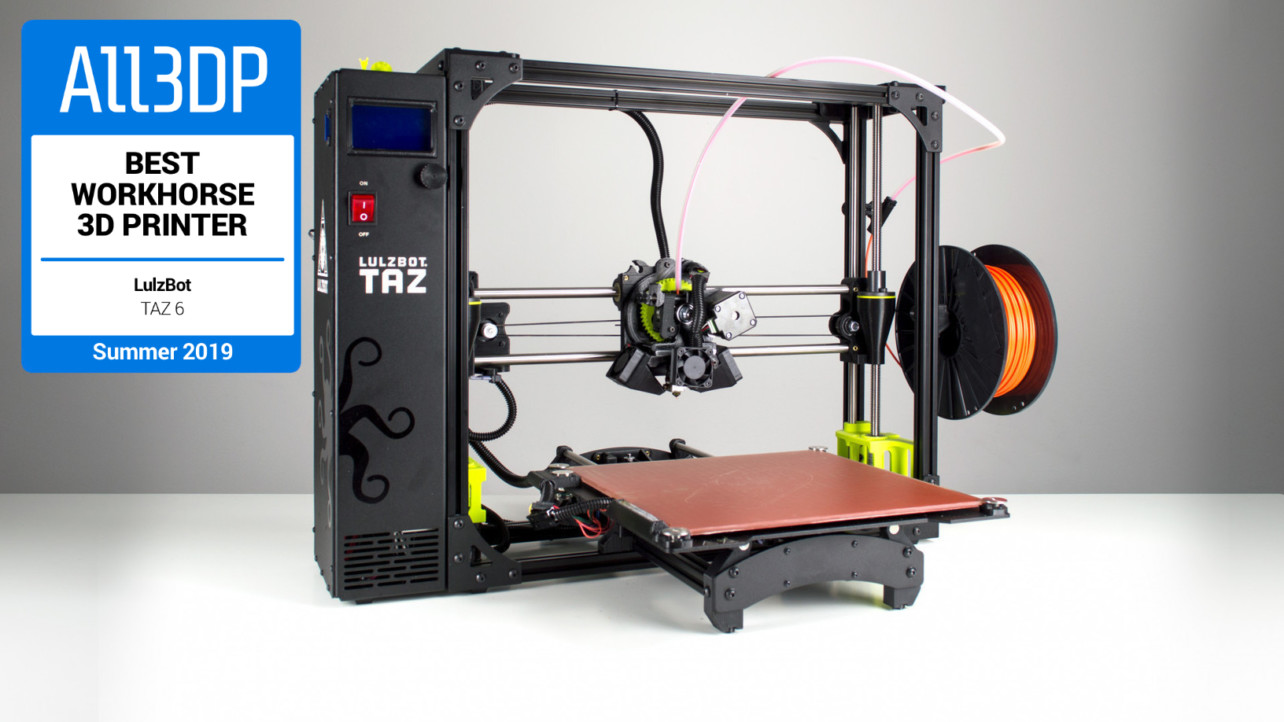Lulzbot TAZ 6 Review - Best Workhorse 3D Printer in 2019 | All3DP