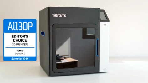 Featured image of 2019 Tiertime UP300 3D Printer Review – ABSolutely Fabulous