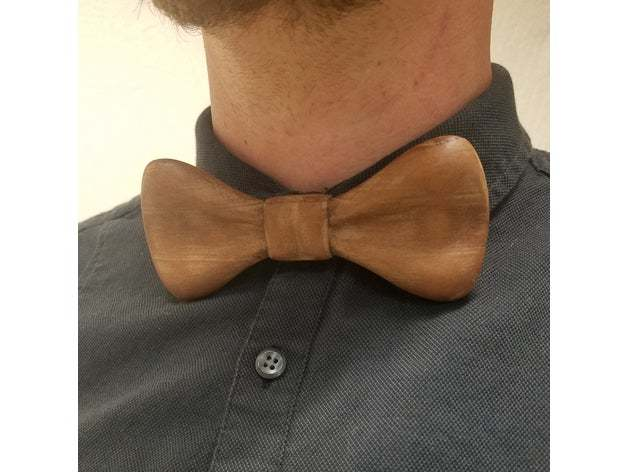 A rustic print of this bow tie design.