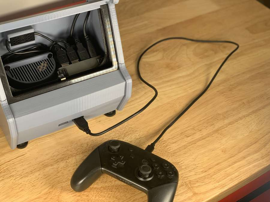 Project] 3D Print Your Own Nintendo Switch Arcade Cabinet
