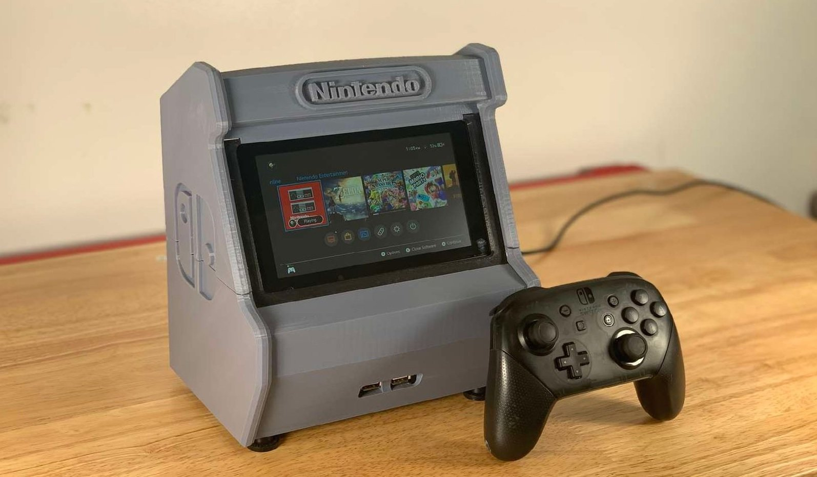 [Project] 3D Print Your Own Nintendo Switch Arcade Cabinet | All3DP