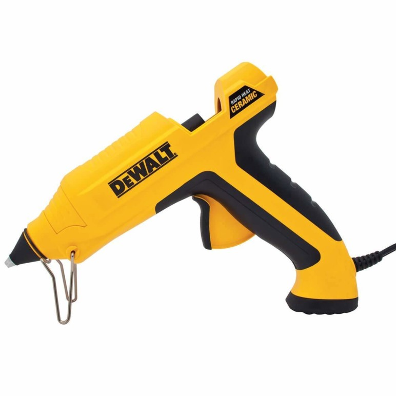This DeWALT Glue Gun is perfect for a quick fix.