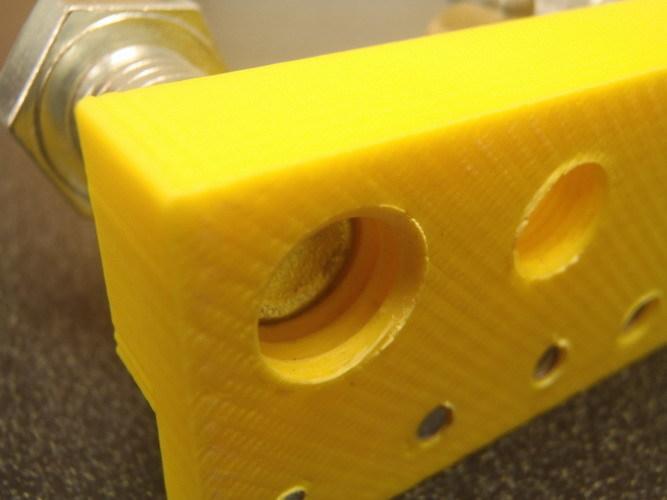 A 3D printed thread test.