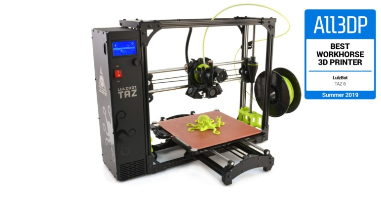 Image of Best 3D printers at Amazon: Lulzbot TAZ 6
