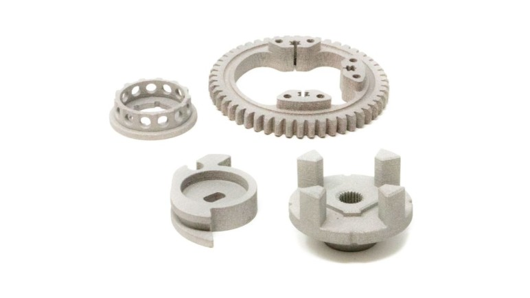Metal 3D printed parts.
