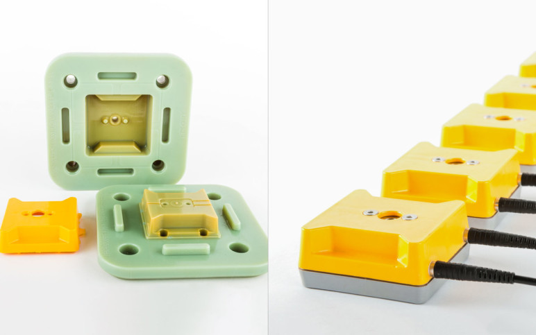3D print your own manufacturing molds with your own equipment!